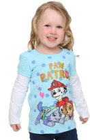 Freeze Paw Patrol Group Long Sleeve Twofer Toddler Girls - 4T