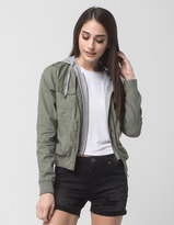 Full Tilt Knit Twill Womens Jacket