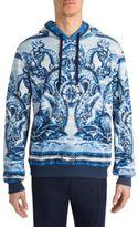 Dolce & Gabbana Portifin Regular Fit Cotton Hoodie