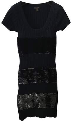 Louis Vuitton Navy Cashmere Dresses