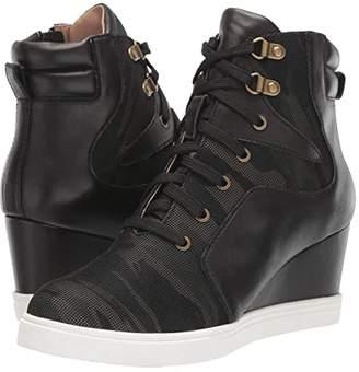 Linea Paolo Fleur (Black/Camo) Women's Shoes