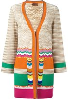 Missoni V-neck cardigan - women - Viscose/Wool - 44