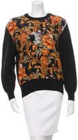 Salvatore Ferragamo Silk-Accented Wool Sweater