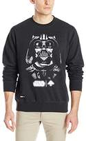 Lrg Men's Star Wars Darth Vader Face Of War Crew Neck Sweatshirt