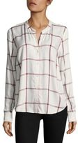 Splendid Checked Button-Up Shirt