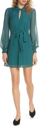 Ali & Jay Room with a View Fil Coupe Chiffon Minidress