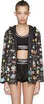 Fendi Reversible Black Animation Jacket