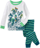Osh Kosh 2-Piece Glow-in-the-Dark Snug Fit Cotton PJs