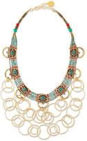 Devon Leigh Turquoise Beaded Chain Necklace