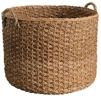 Wholestory Collective Large Wicker Basket