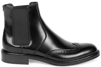 Saint Laurent Ceril Leather Chelsea Boots