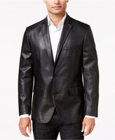 INC International Concepts Men's Slim-Fit Faux-Leather Blazer, Only at Macy's