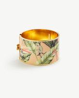 Ann Taylor Tropical Cuff Bracelet