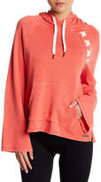 Betsey Johnson Lattice Raglan Sleeve Hoodie