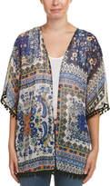 Glam Whimsy Pom-Pom Kimono