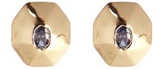 Alexis Bittar Soft Octagon Stud Earring