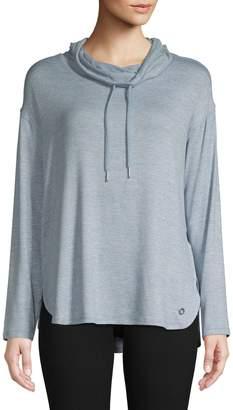 Calvin Klein Marled Cowl Neck Sweater