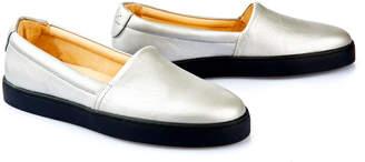 Nine To Five Slip Sneaker Sarria Silver