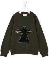 Moncler embroidered sweatshirt