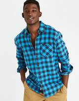 American Eagle Outfitters AE Classic Plaid Shirt