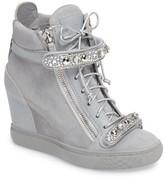 Giuseppe Zanotti Women's Giuseppe For Jennifer Lopez Tiana Hidden Wedge Sneaker