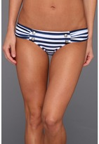 Seafolly Seaview Ruched Side Pant (Indigo) - Apparel