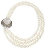 Miu Miu Women's Multistrand Imitation Pearl Necklace
