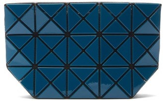 Bao Bao Issey Miyake Prism Top-zip Pvc Pouch - Blue