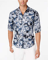 INC International Concepts Men's Tonal Floral Shirt, Created for Macy's