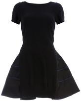 Sacai ruffle trim dress