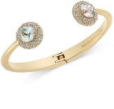 Kate Spade Gold-Tone Iridescent Crystal Bracelet