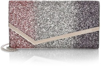 Jimmy Choo Emmie Degrade Glitter Clutch