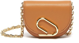 3.1 Phillip Lim ALIX' Metal Paperclip Detail Leather Mini Crossbody Bag