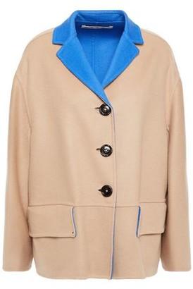 Marni Oversized Reversible Wool And Cashmere-blend Felt Coat