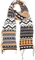 Sonia Rykiel Geometric-jacquard scarf
