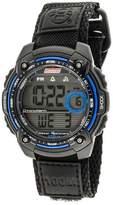 Coleman Men's Digital Sportwrap Watch - Black/Blue