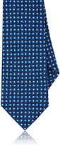 Isaia Men's Abstract-Dot-Pattern Necktie-NAVY