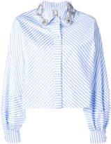Antonio Marras striped long-sleeve top