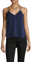 Finders Keepers Tied Racerback High Low Blouse