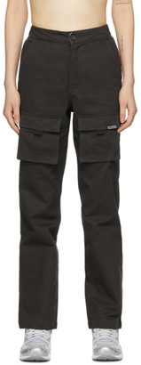 Stussy Black Front Cargo Pants