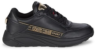 Roberto Cavalli Sport Lace-Up Sneakers