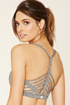Forever 21 FOREVER 21+ Low Impact - Caged Sports Bra