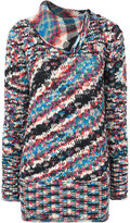 Missoni fold collar jumper - women - Cashmere - 38