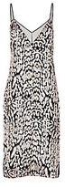 ADAM by Adam Lippes Leopard Velvet Slip Dress