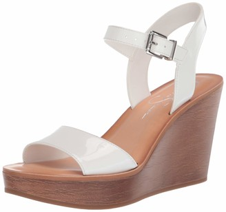 Jessica Simpson Women's Miercen Wedge Sandals Black
