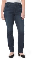 NYDJ Plus Size Women's Marilyn Stretch Straight Leg Jeans