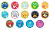 Pearhead Baby Holiday Stickers (Set of 14)