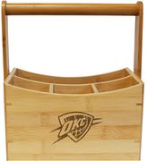 Oklahoma City Thunder Bamboo Utensil Caddy