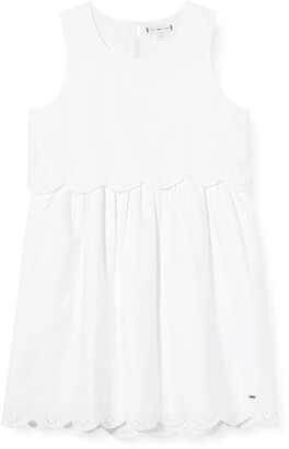 Tommy Hilfiger Girl's EID Broderie Anglaise Dress