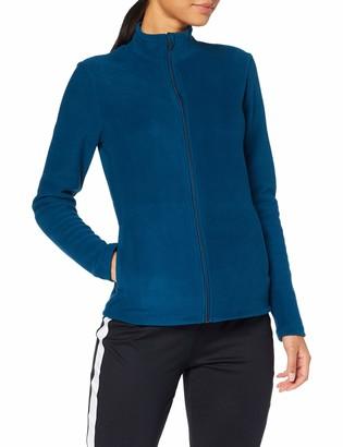 Aurique Amazon Brand Women's Long Sleeve Fleece Sweatshirt